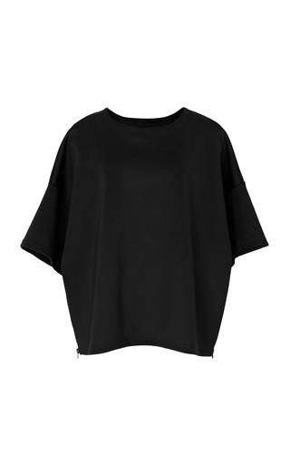 Medium opening ceremony black side zip neoprene tunic