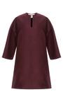Silk Mikado 3/4 Sleeve Tunic by VALENTINO for Preorder on Moda Operandi