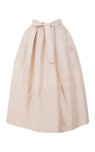 Medium tome taffeta dirndl skirt