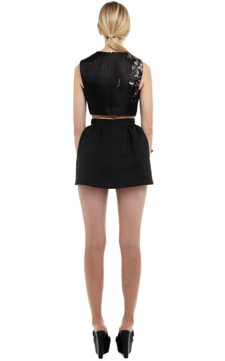 Organza Mini Skirt by GIAMBATTISTA VALLI for Preorder on Moda Operandi