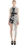 Bouquet Gazar Scarf Dress by GIAMBATTISTA VALLI for Preorder on Moda Operandi