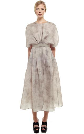 Sacco Gazar Round Sleeve Dress by GIAMBATTISTA VALLI for Preorder on Moda Operandi