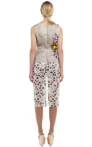 Pansy Mussoline Dress by GIAMBATTISTA VALLI for Preorder on Moda Operandi