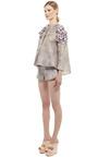 Sacco Gazar Wheel Jacket by GIAMBATTISTA VALLI for Preorder on Moda Operandi