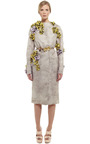 Sacco Gazar Crew Neck Coat by GIAMBATTISTA VALLI for Preorder on Moda Operandi