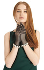 Pearl Embellished Tulle Gloves by SIMONE ROCHA Now Available on Moda Operandi