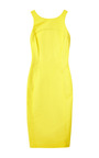 Cotton Scuba Racer Back Sheath Dress by VERONICA BEARD for Preorder on Moda Operandi