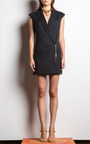 Textured Suiting Zip Front Blazer Dress by VERONICA BEARD for Preorder on Moda Operandi