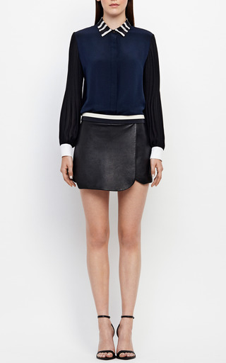 Parisian Sleeve Blouse by JONATHAN SIMKHAI for Preorder on Moda Operandi