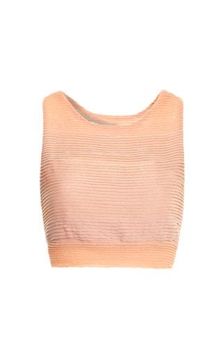 Medium jonathan simkhai pink major gradient bra top