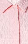 Kristie Cropped Matelassé Shirt by EMILIA WICKSTEAD Now Available on Moda Operandi