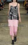 Printed Georgette Mini Vest Dress by RICHARD NICOLL for Preorder on Moda Operandi