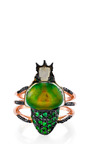 Camouflage Ring by DANIELA VILLEGAS for Preorder on Moda Operandi