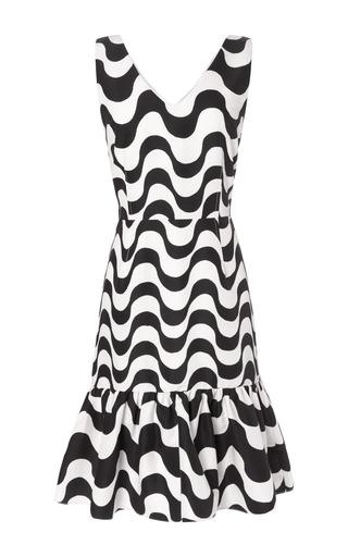 Carmen Copacabana Print Ruffle Dress by CLEMENTS RIBEIRO for Preorder on Moda Operandi