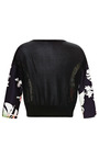 Postcard Rio Print Crew Neck With Knitted Back by CLEMENTS RIBEIRO for Preorder on Moda Operandi