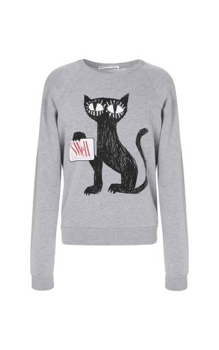 Medium clements ribeiro dark grey swell cat sweatshirt