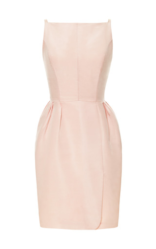 Tailor Bow Back Party Dress by KATIE ERMILIO for Preorder on Moda Operandi