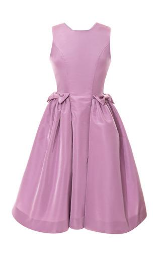 Medium katie ermilio purple lilac bow pocket party dress
