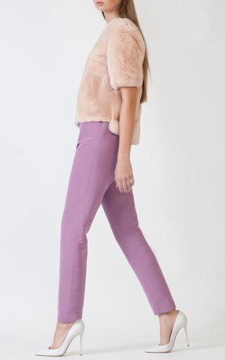 Spring Fur Tee by KATIE ERMILIO for Preorder on Moda Operandi