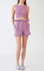 Tailor Bow Shell by KATIE ERMILIO for Preorder on Moda Operandi