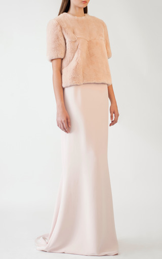 Cruise Evening Skirt by KATIE ERMILIO for Preorder on Moda Operandi