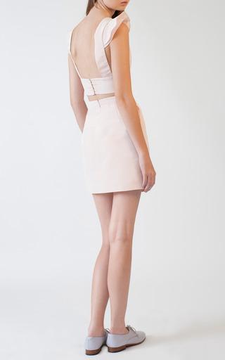Spring Mini Skirt by KATIE ERMILIO for Preorder on Moda Operandi