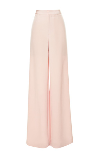 Medium katie ermilio pink wide leg trousers