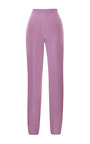 Faille Matchstick Pants by KATIE ERMILIO for Preorder on Moda Operandi