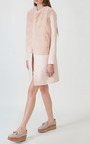 Fur Bodice Top Coat by KATIE ERMILIO for Preorder on Moda Operandi