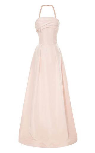 Medium katie ermilio pink tie back bandeau gown