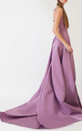 Laced Tailor Bow Gown by KATIE ERMILIO for Preorder on Moda Operandi