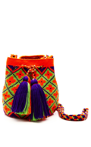 Medium muzungu sisters multi one of a kind handmade wayu mini mochila 5