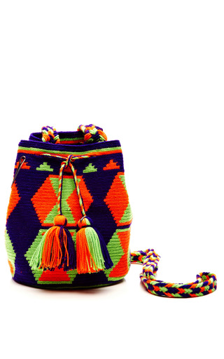 Medium muzungu sisters multi one of a kind handmade wayu mini mochila 6