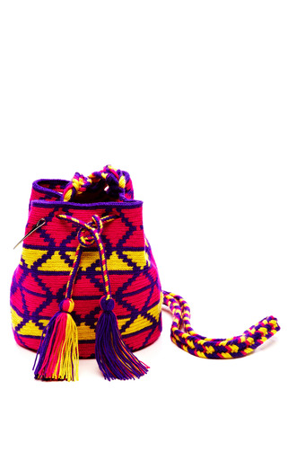 Medium muzungu sisters multi one of a kind handmade wayu mini mochila 9