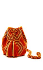 One Of A Kind Handmade Wayu Mini Mochila by MUZUNGU SISTERS Now Available on Moda Operandi