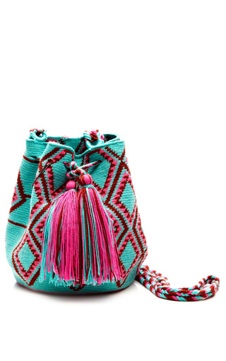 Medium muzungu sisters multi one of a kind handmade wayu mini mochila 11