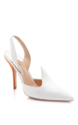 Pallide Slingback Heels by TANYA TAYLOR Now Available on Moda Operandi