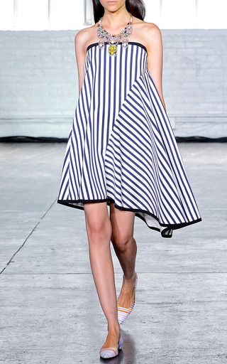 Piper Stripe Dress by TANYA TAYLOR for Preorder on Moda Operandi