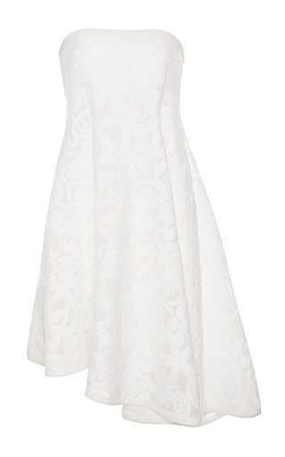 Medium tanya taylor white piper floral mesh dress