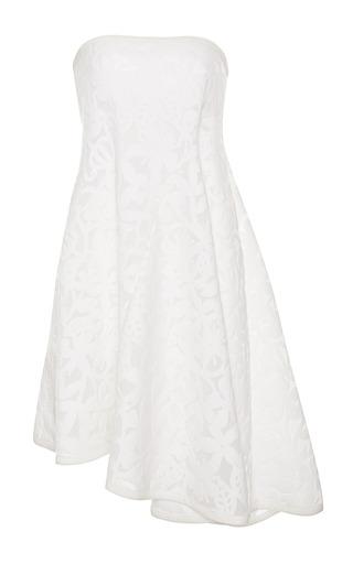 Medium tanya taylor white piper floral mesh dress