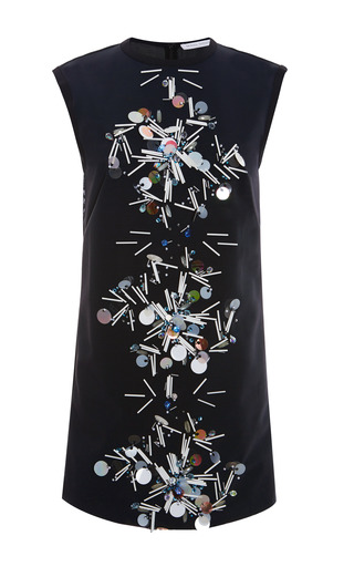 Reva Embellished Mesh Dress by TANYA TAYLOR for Preorder on Moda Operandi