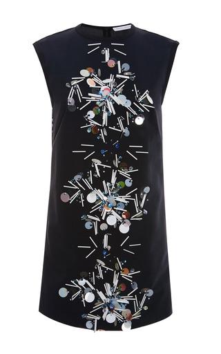 Medium tanya taylor black reva embellished mesh dress