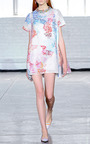 Melanie Rainbow Scroll Dress by TANYA TAYLOR for Preorder on Moda Operandi