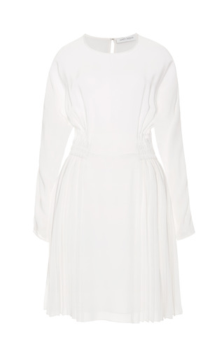 Medium tanya taylor white mulloy silk dress