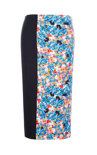 Medium tanya taylor black peggy crazy floral skirt