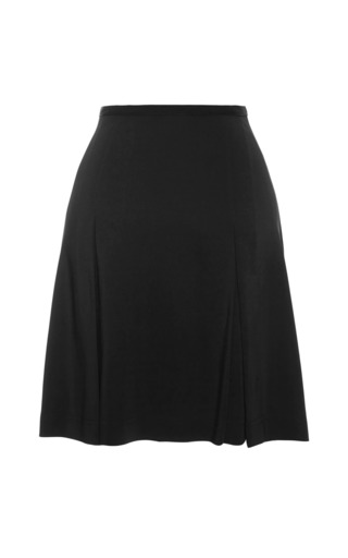 Mackenzie Solid Stretch Skirt by TANYA TAYLOR for Preorder on Moda Operandi