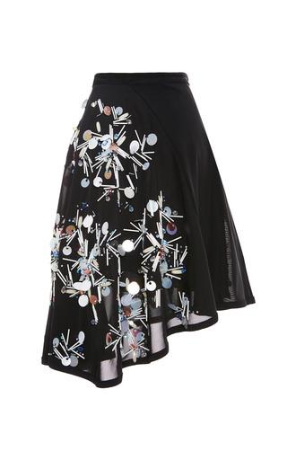 Jolene Embellished Mesh Skirt by TANYA TAYLOR for Preorder on Moda Operandi