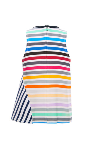 Calla Rainbow Stripe Tank by TANYA TAYLOR for Preorder on Moda Operandi
