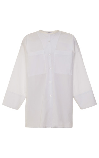Medium tome white two pocket shirt