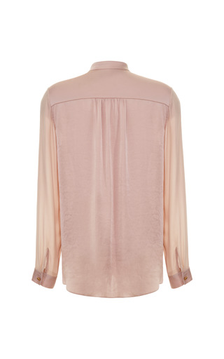 Pleat Front Blouse by TOME for Preorder on Moda Operandi